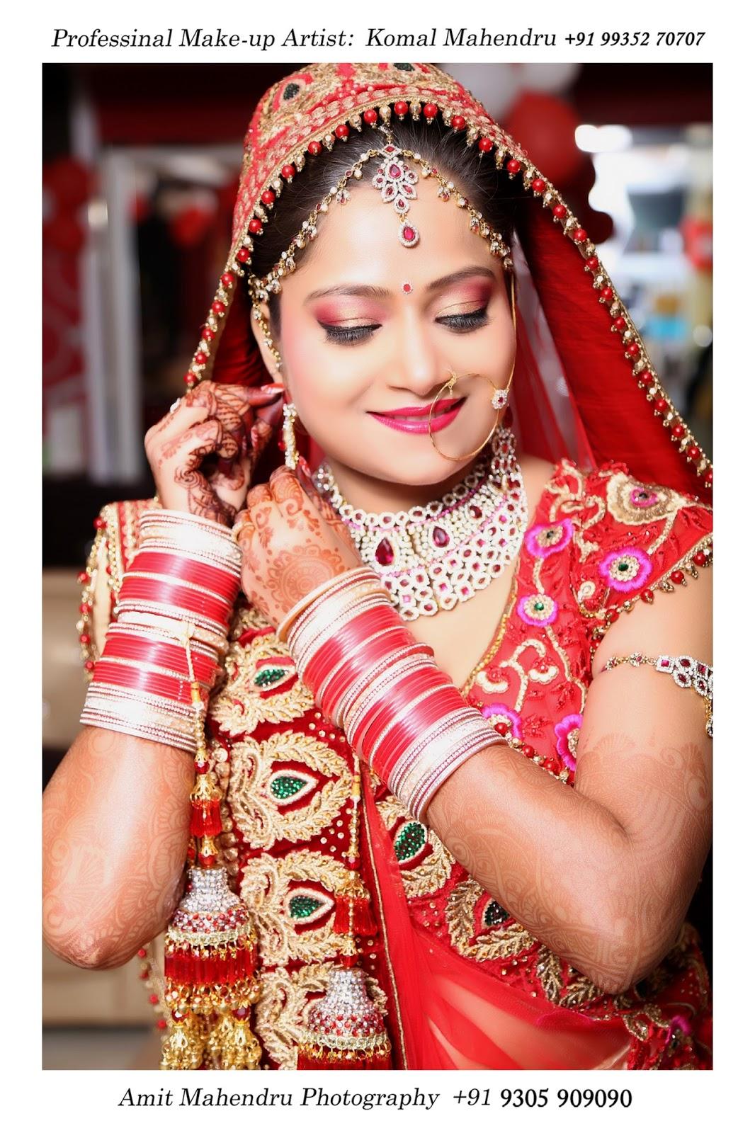 Komal mahendru s professional makeup lucknow india bridal makeup - Bridal Makeup Artist In Lucknow By Komal Mahendru