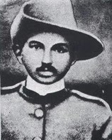 gandhi as SGT Major in africa