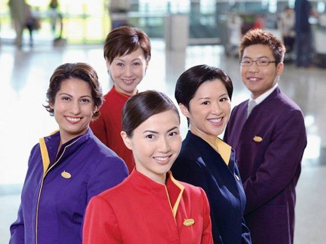 38HongKong252CCathayPacificAirHostess - Air Hostess From Different Countries