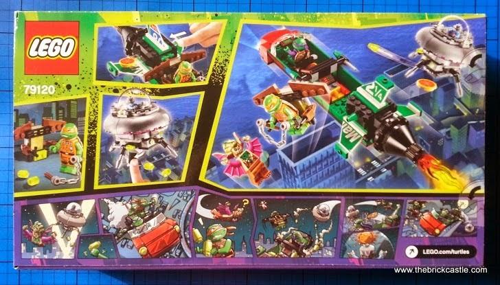 The Brick Castle: Teenage Mutant Ninja Turtles LEGO set 79120 T ...