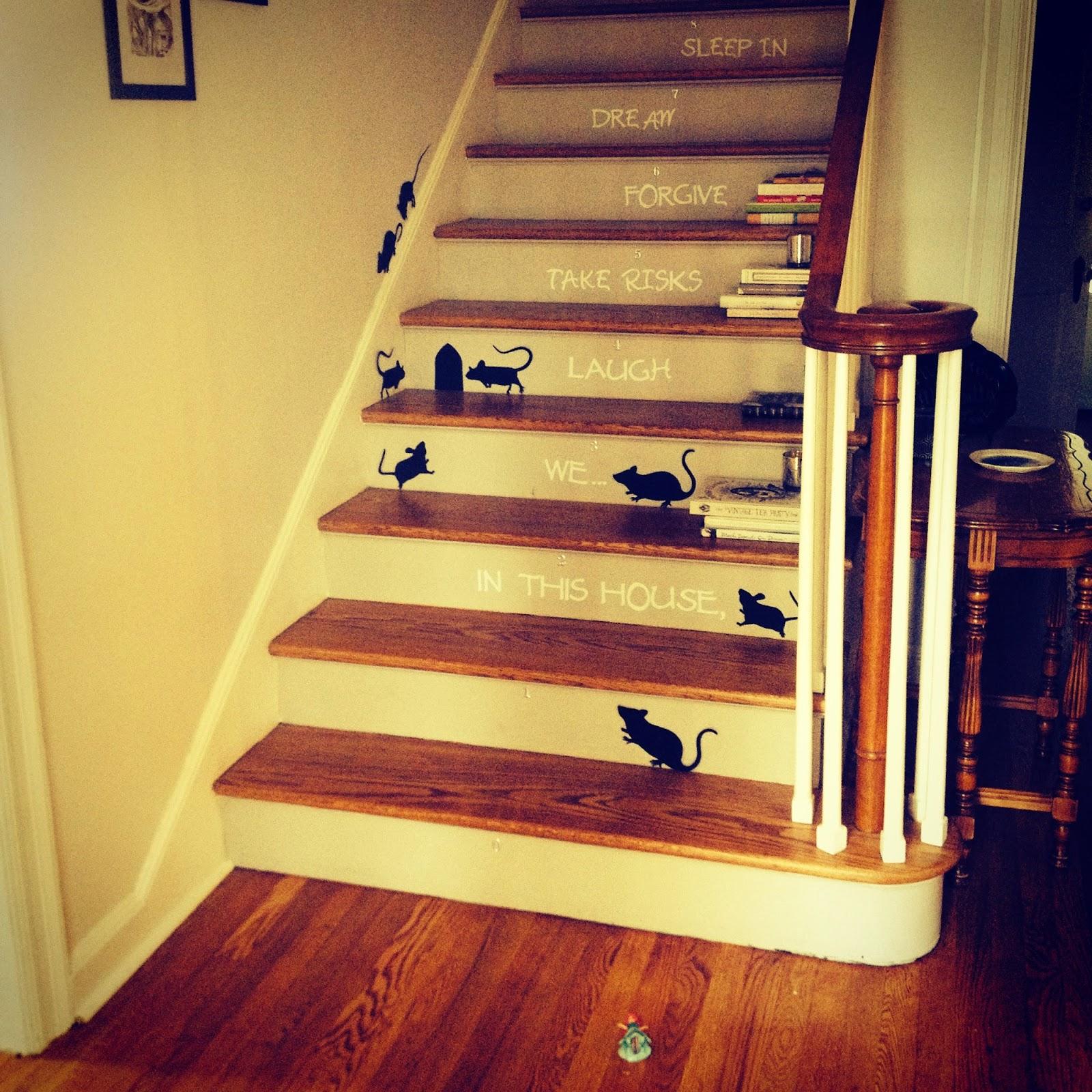Martha Stewart Stair Rats Halloween
