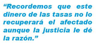 tasas judiciales justicia pp psoe algueña moción