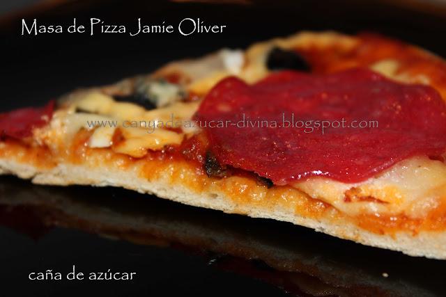 Ca a de az car tu blog de cocina masa de pizza for Cocina 5 ingredientes jamie oliver