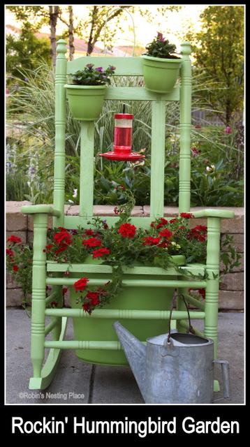 ROBINS NESTING PLACE: Rockin' Hummingbird Garden