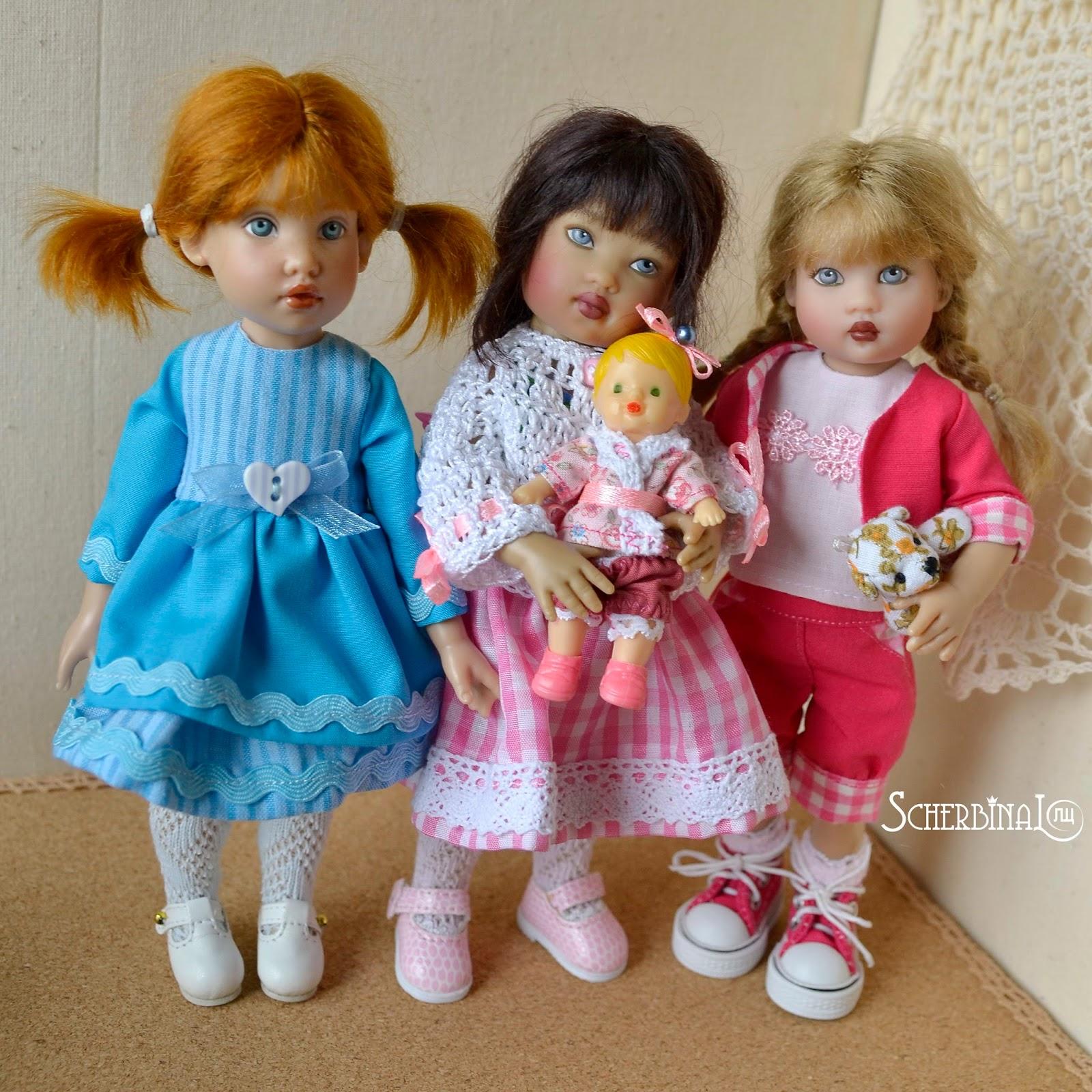 Коллекционные куклы Helen Kish: Tulah, Riley, Zsu Zse