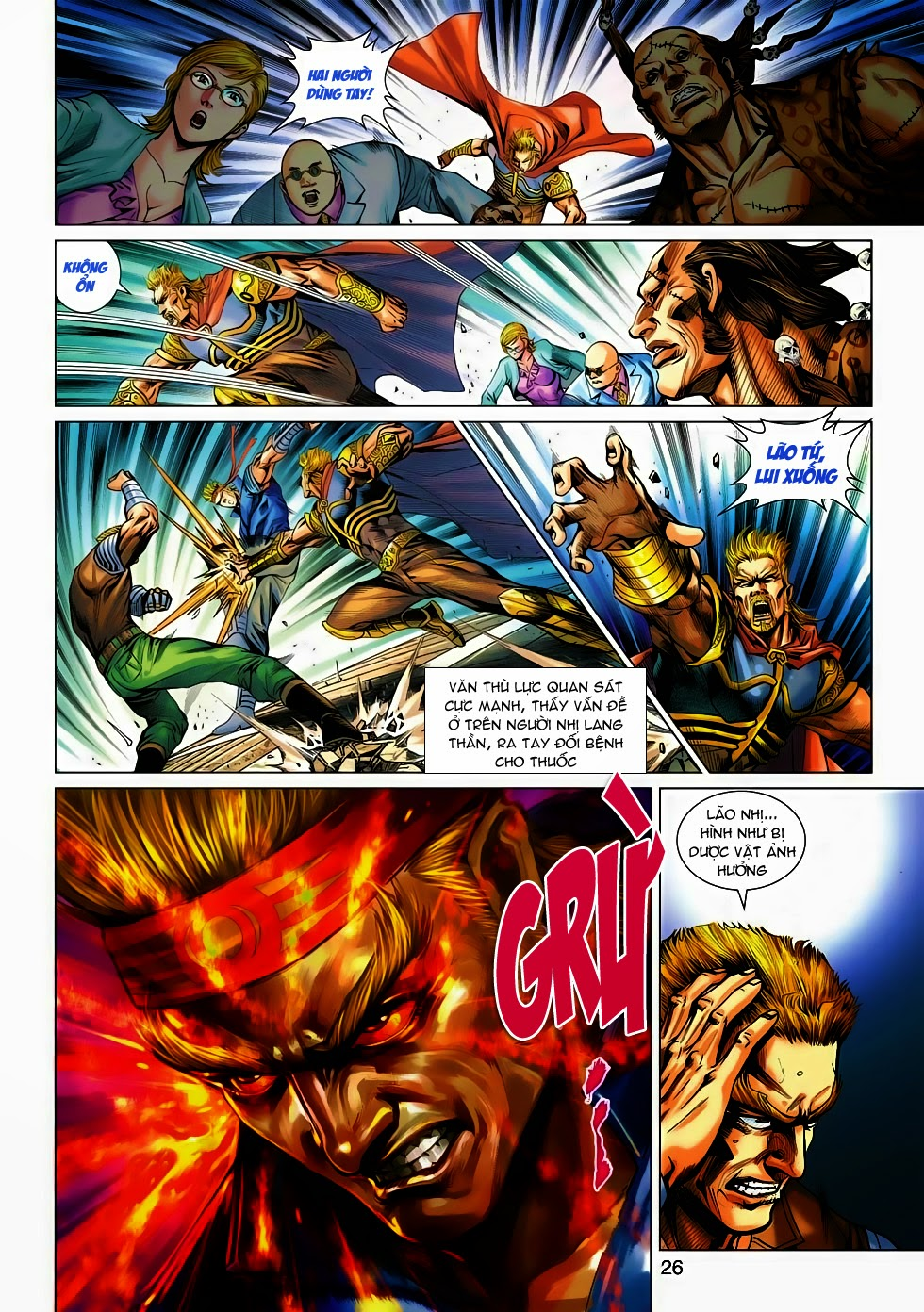 Tân Tác Long Hổ Môn trang 23