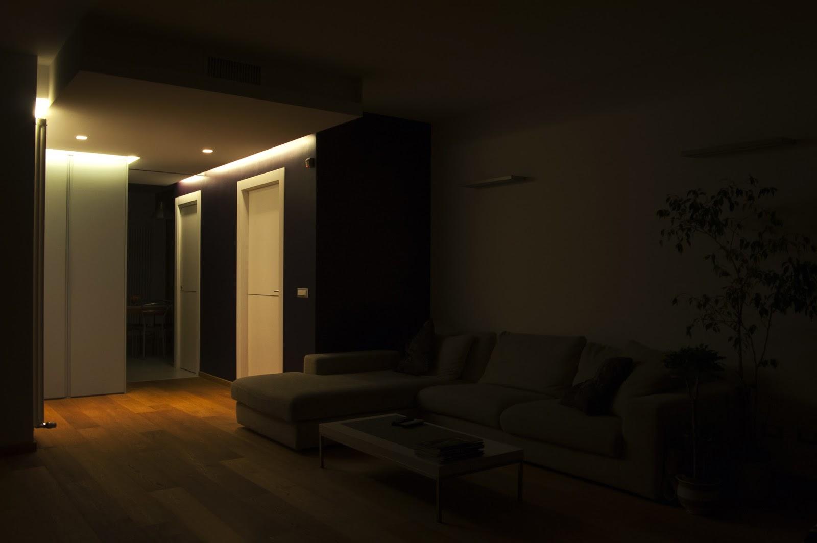 Luci soggiorno led idee per il design della casa - Luci a led casa ...