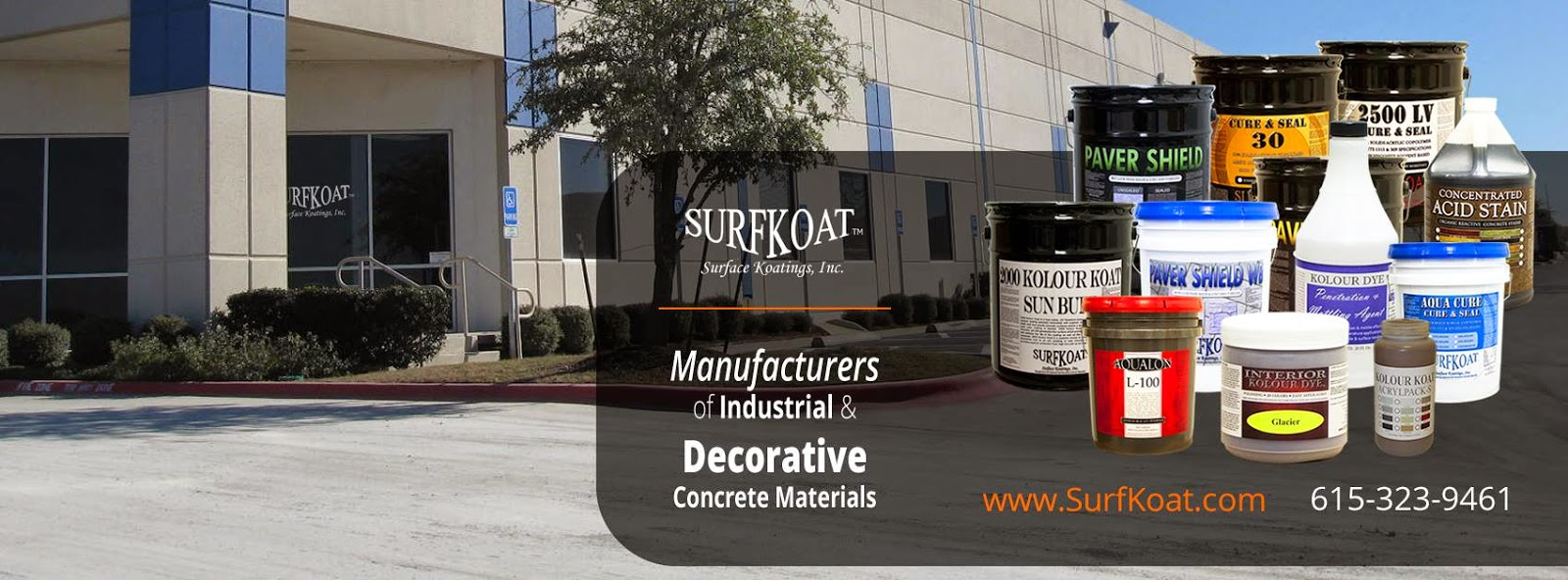 Concrete Sealer Products, Best Concrete Sealers, Trusted Epoxy Floor Coatings