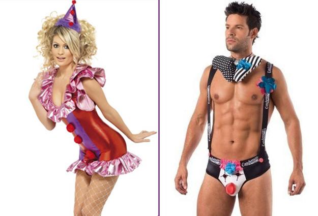 costume clown homme et femme