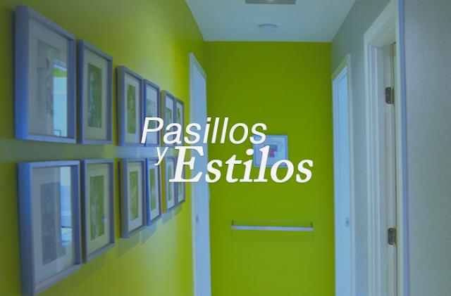 10 tipos de pasillos y estilos para tu departamento o casa - Lo ultimo en decoracion de paredes ...