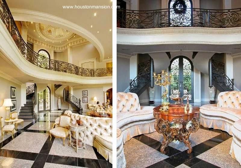 Arquitectura de casas mansi n en houston casa para for Interiores de casas lujosas