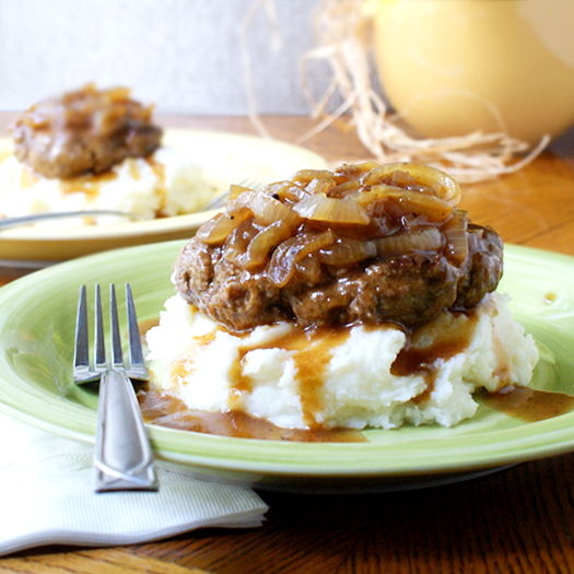 Salisbury Steak | The Two Bite Club