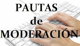 REGLAS PARA LA MODERACIÓN DE COMENTARIOS