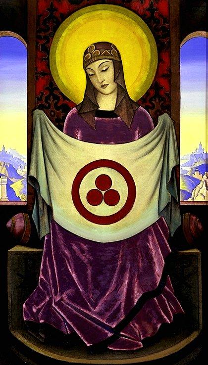 El Código Roerich y la Piedra de Chintamani (movido relación pax esferas y BSP)- PARRAVICINI Y LOS 3 CÍRCULOS Madonna