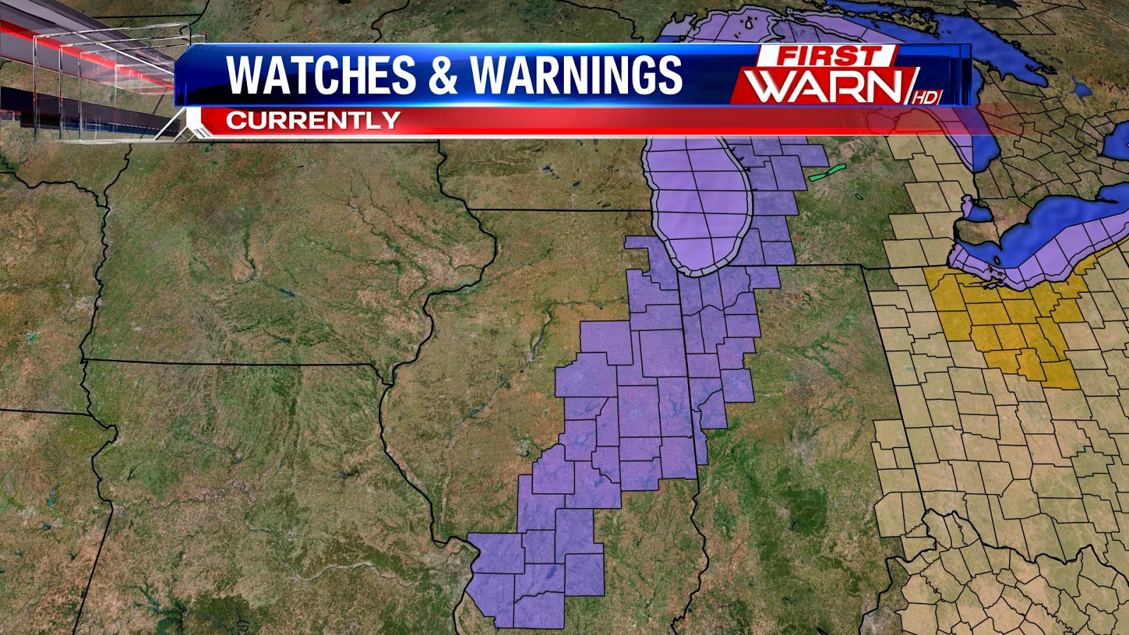 the winter weather advisory that had been issued for dekalb and mchenry counties tuesday evening has been canceled the winter storm watch that had been