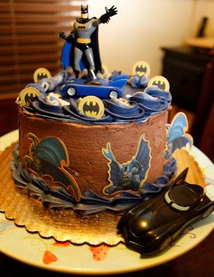 Batman Birthday Cupcake Designs