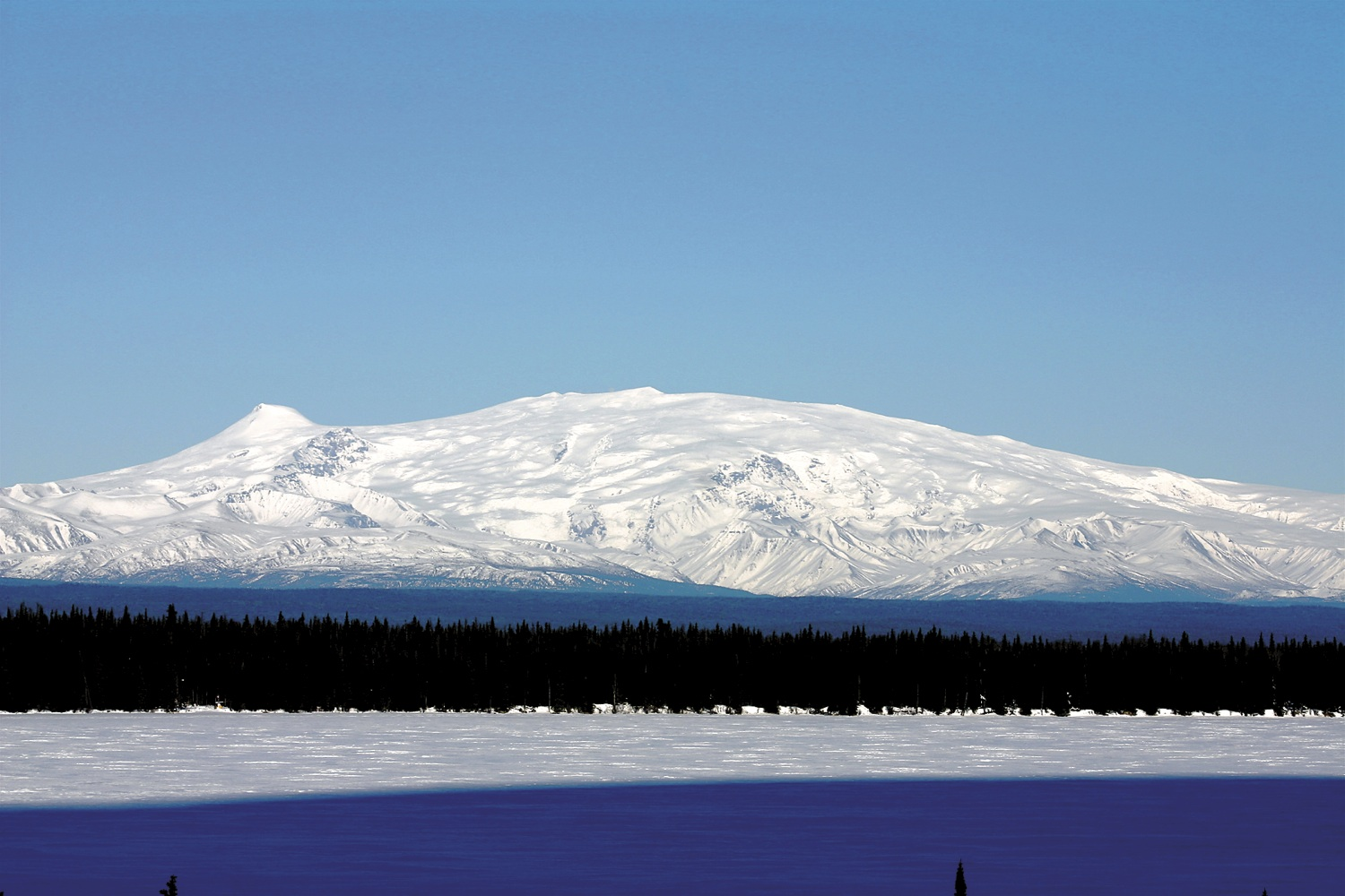"Mt. Wrangell (""K'elt'aeni"" In Its Original Ahtna Name)"
