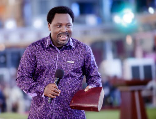 TB JOSHUA: CHRISTIANITY LIES IN THE HEART