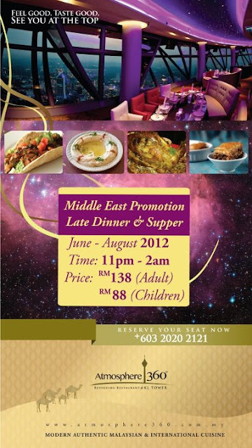 196192 391130690937224 1857967634 n Middle East Promotion at Atmosphere 360, Menara KL