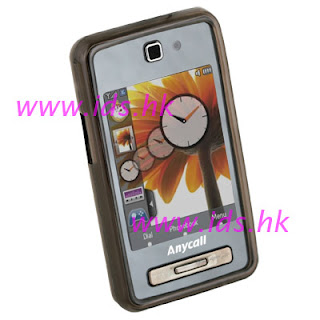 Pattern Rubber Skin Cover Case For Samsung F480 Tocco F488 Ids Hk.