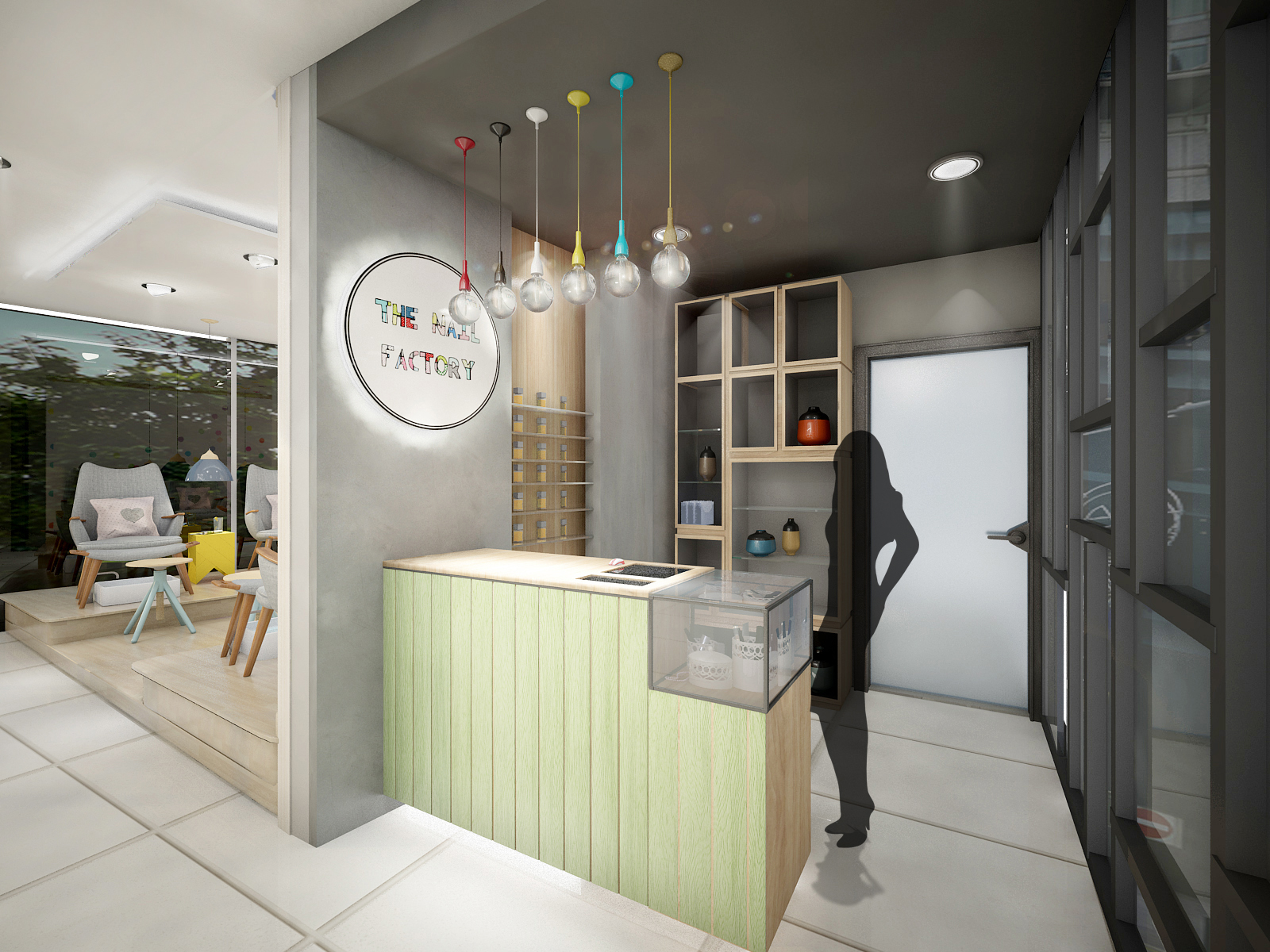 Ivys Dairy Last Work For My Diploma Of Interior Design Nail Spa