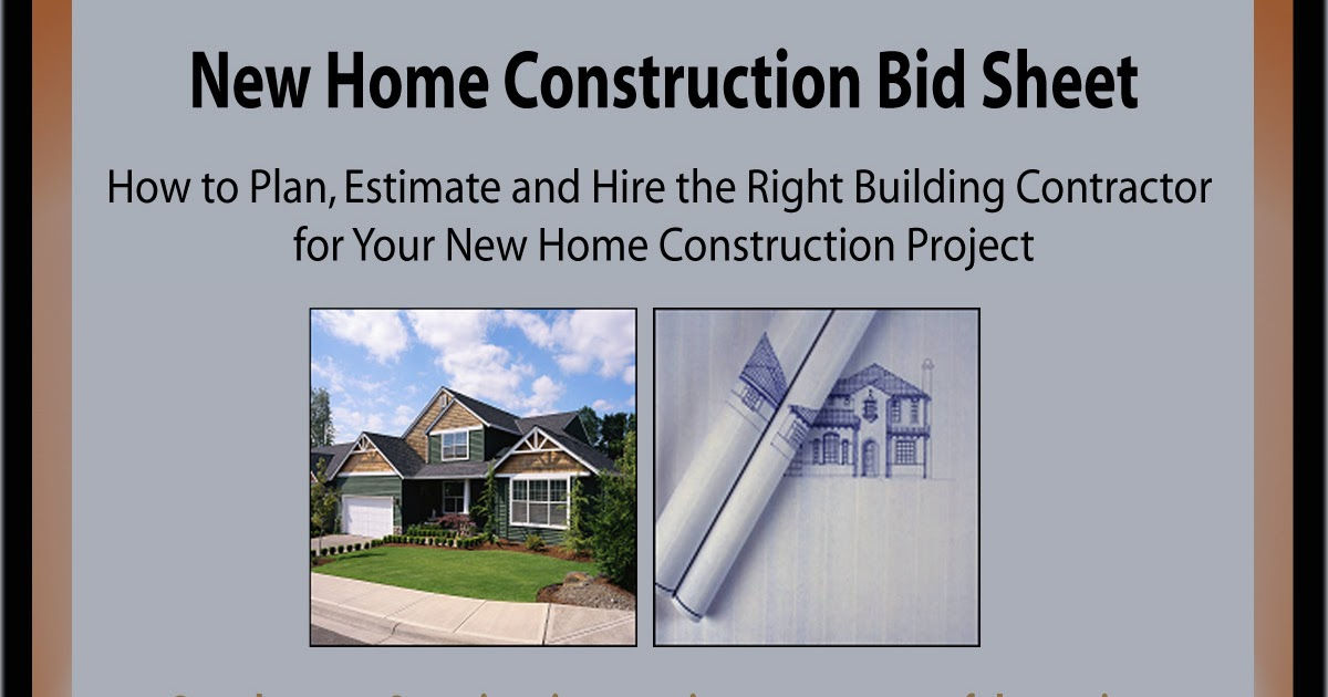 Home Addition New Home Construction And Room Addition Bid