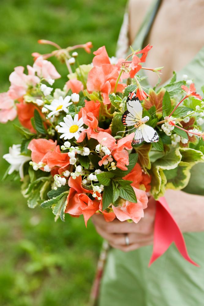 Prairie Sage Wildflower Bridal Bouquet Trend For Fall 2013