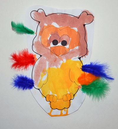 Preschool Owl Craft