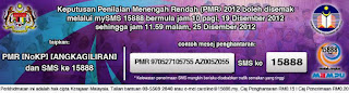 semak keputusan PMR 2012