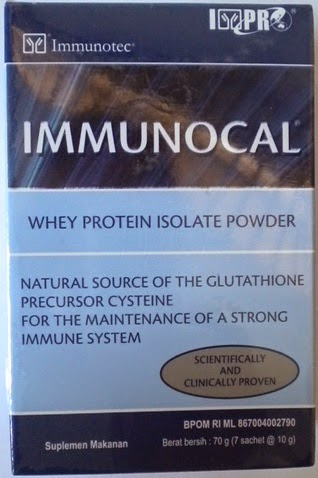 Immunocal Glutathione kemasan baru Super Murah  isi 7 sachet