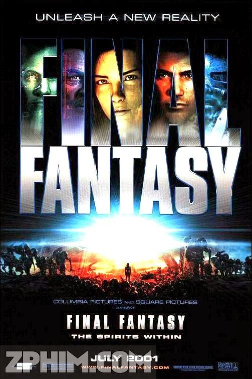 Hủy Diệt Trái Đất - Final Fantasy: The Spirits Within (2001) Poster