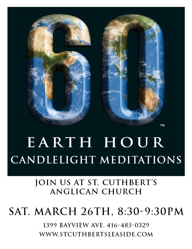 earth hour toronto. Earth Hour at St. Cuthbert#39;s