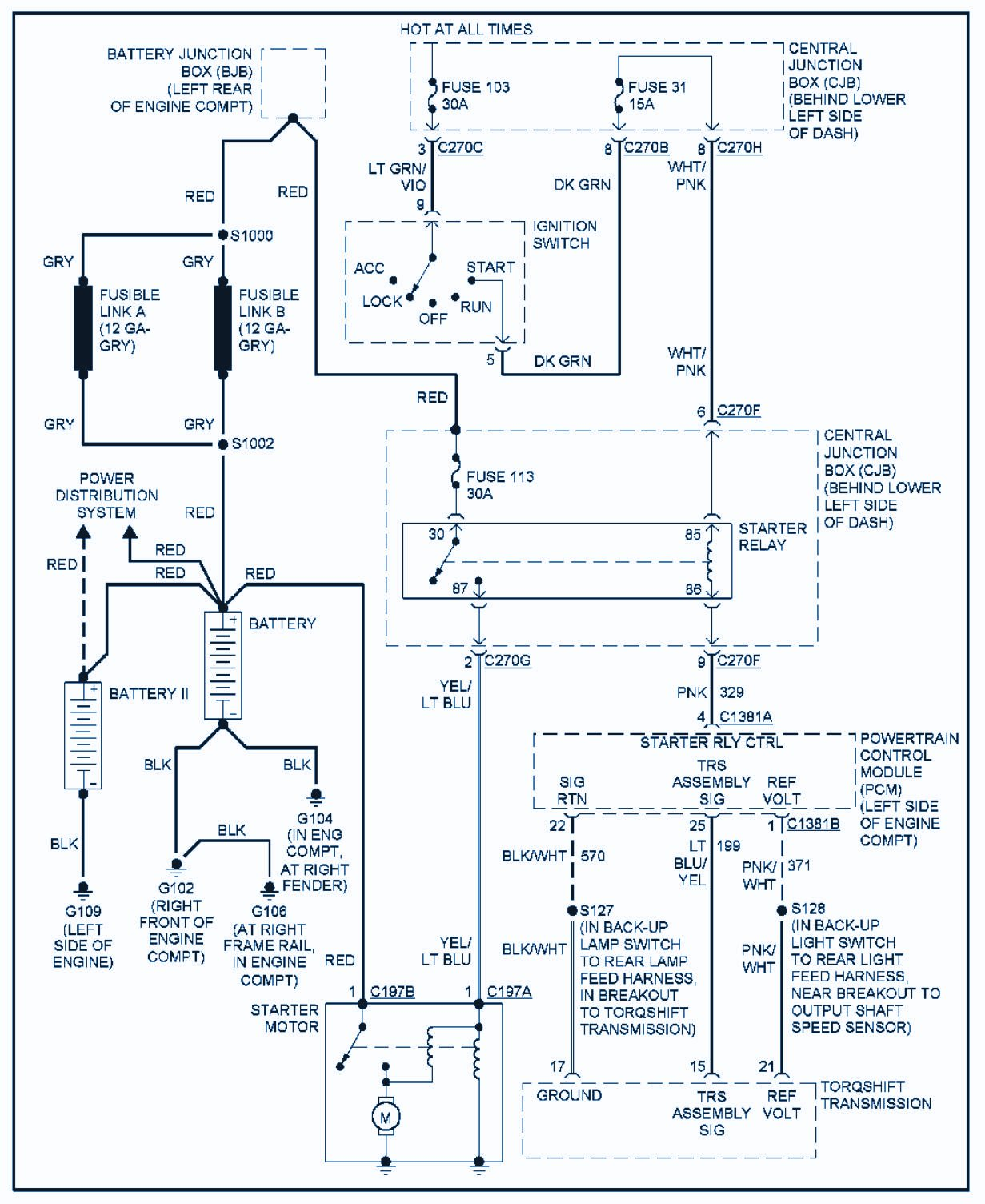 1996 Ford Diesel Engine Wiring Diagram