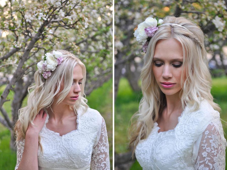 cherry blossom styled shoot, provo utah, anna gleave photography