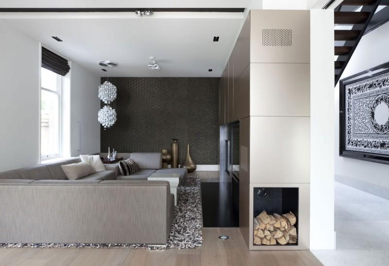 Hogares frescos casa con claraboyas ventanales y techos for Disenos techos minimalistas
