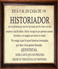 ¿QUÉ ES UN HISTORIADOR?