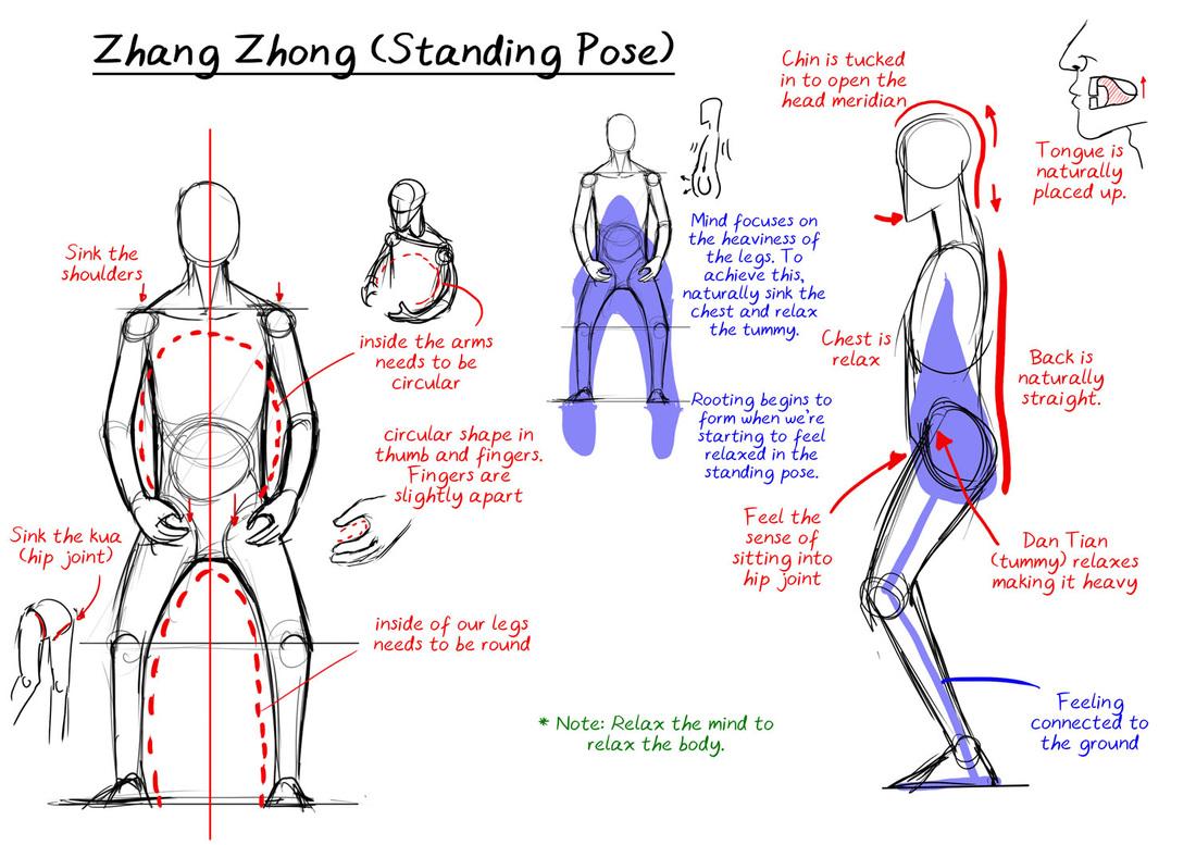 Healing, Yoga and Qigong: Zhan Zhuang - Foundation of Internal Martial ...