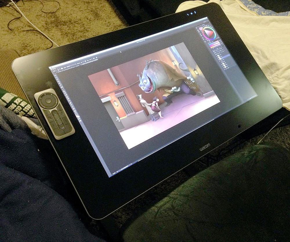 Cintiq 27 QHD Touch Review