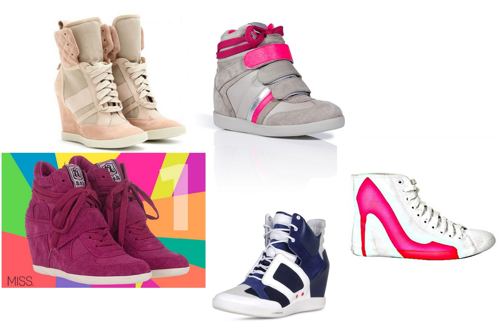 clothes trend report wedge sneakers