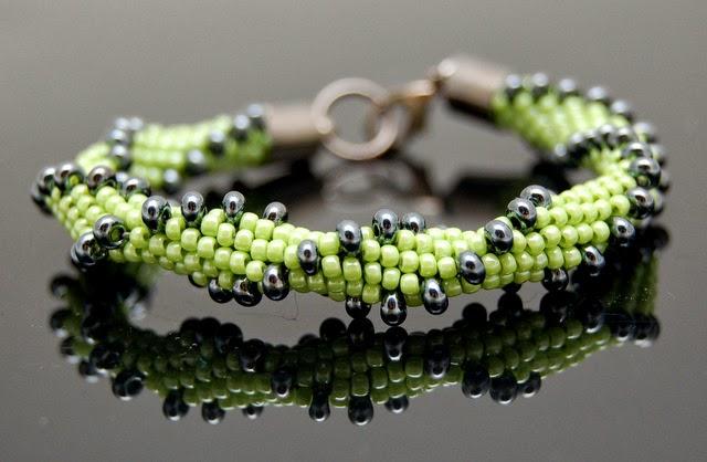 bransoletka koralikowa bead crochet bracelet inati zare 10
