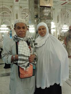 Di Masjidilhram. Mekah. Musim Haji ..1433H-2012