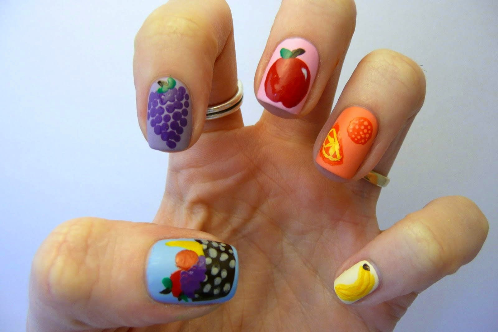 Cute Fruit Nail Ideas Fashions Feel Tips And Body Care