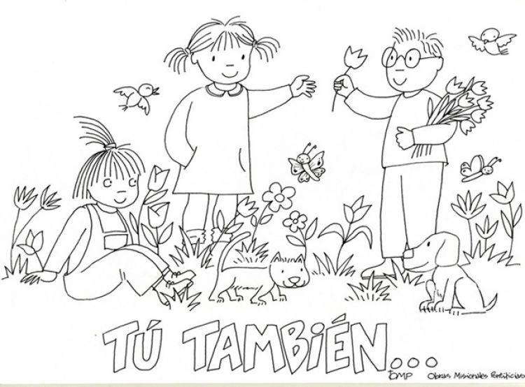 Dibujos para colorear del ecosistemas - Imagui