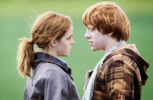 ron and hermione dating