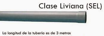 Tuberias de pvc Eléctrico Liviano (SEL)