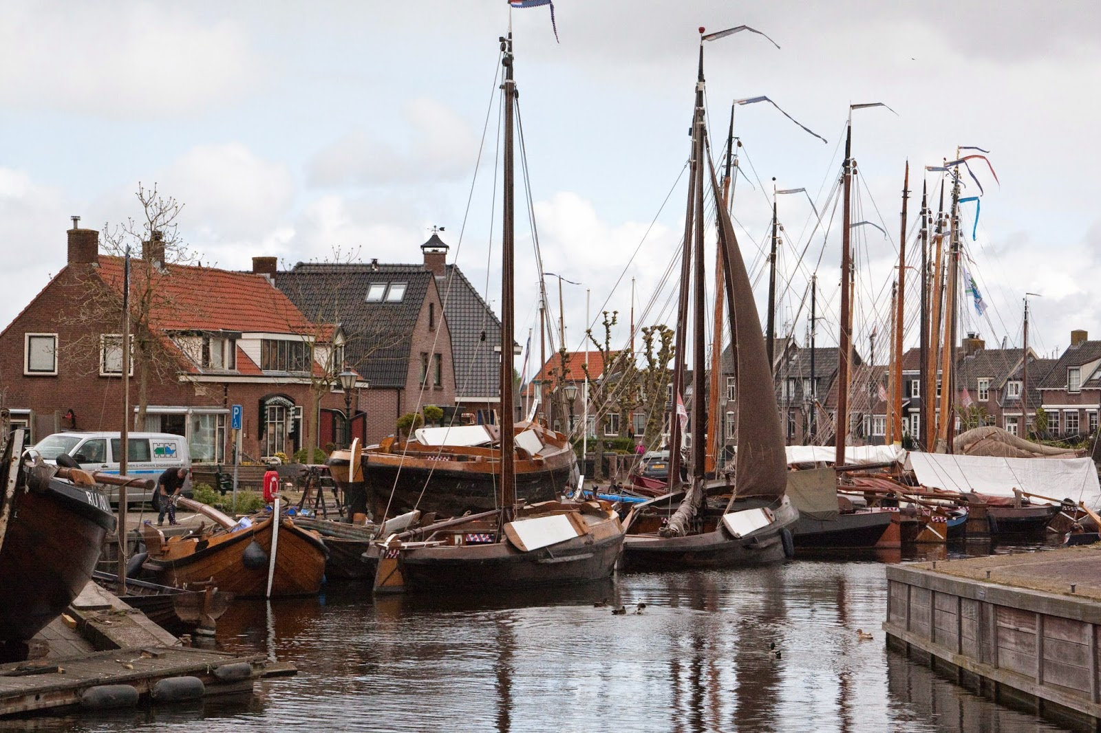 Hand, have a nice day: spakenburg