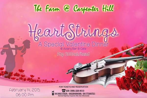 The Farm @ Carpenter Hill presents Heartstrings: A Special Valentine Dinner