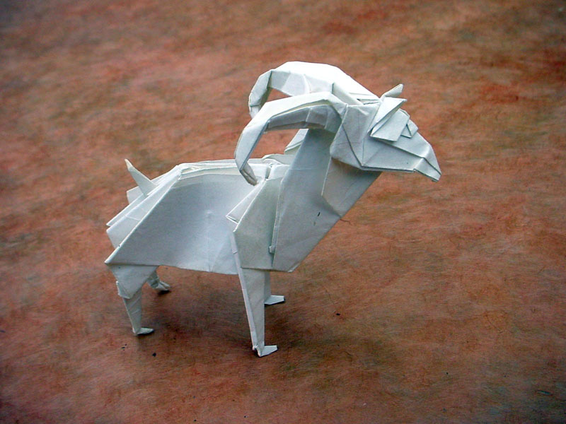Origami Goat Image Collections Handicraft Ideas Home Decorating Rh Getafun Info Easy Chicken