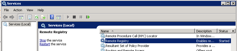 Read Remote Registry Value in C# using WMI and Remote Registry