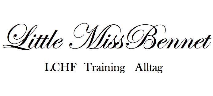 little MissBennet - LCHF Training Alltag